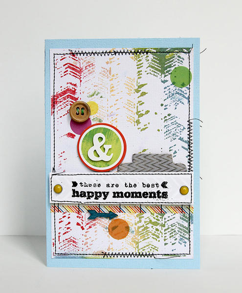 Happy Moments Card