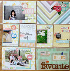 Project Life, Week 14 *American Crafts*