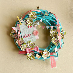 Spring Wreath *American Crafts*