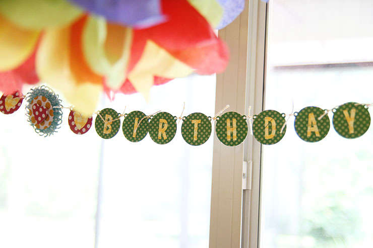 Happy Birthday Banner *Lily Bee*