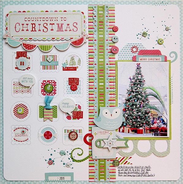 Countdown to Christmas *Carta Bella*