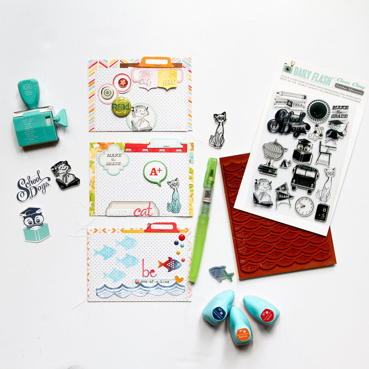 Lunch Box Cards | October Afternoon