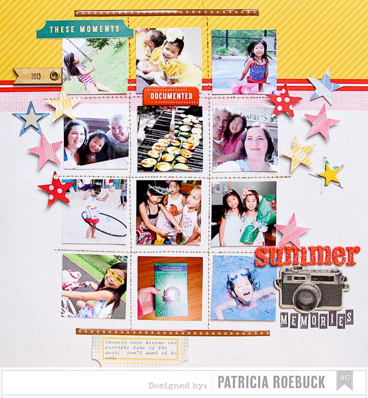 Summer Memories   American Crafts