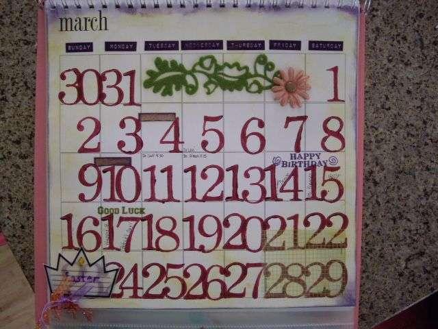 March 2008 calendar
