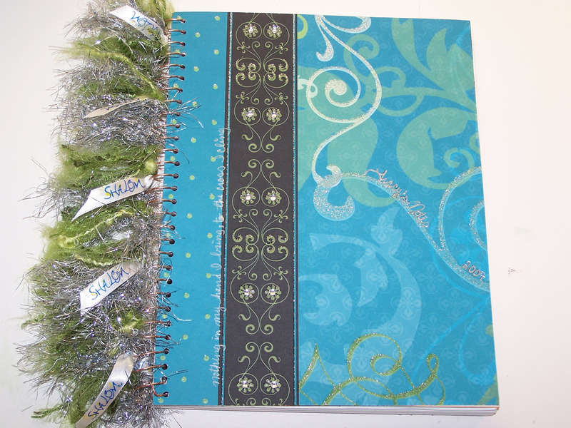 Altered Notebook ( front cover)