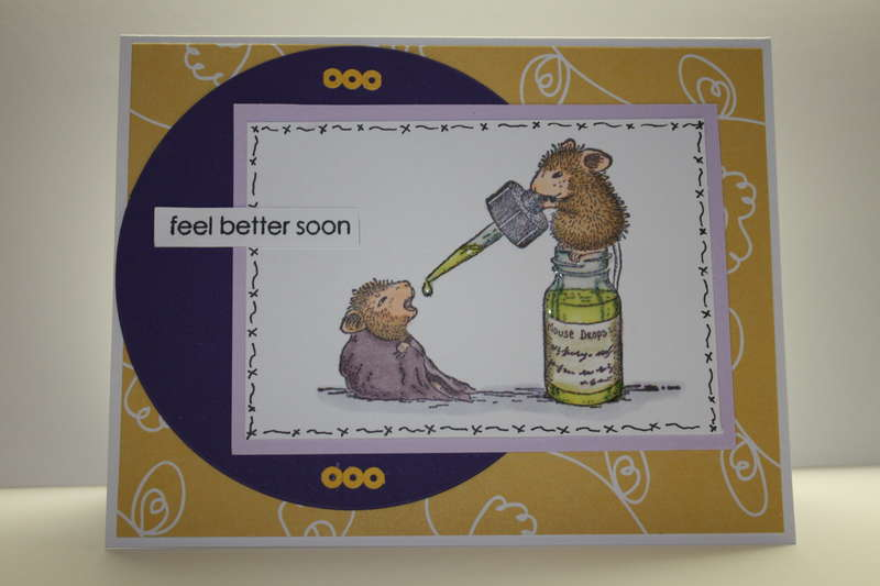 Feel better soon ~ House Mouse