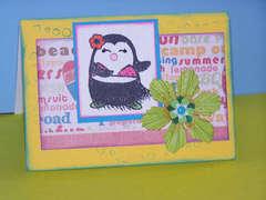 Penguin Chick Beachy Birthday