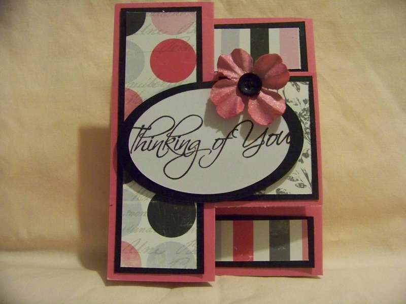 Trifold card (Thinking of You )