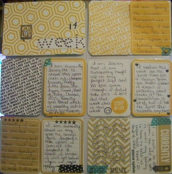Project Life week 14