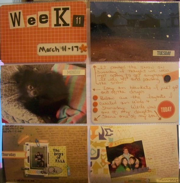 Week 11 left side