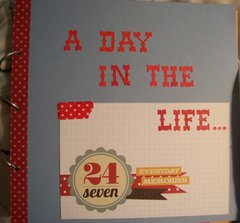 Cover of Mini Album A Day in the life