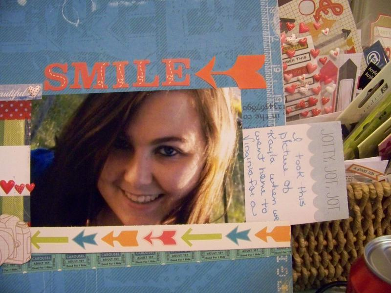 Beautiful Smile Hidden Journaling