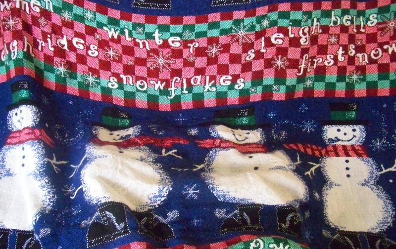 Snowmen blanket(something blue)