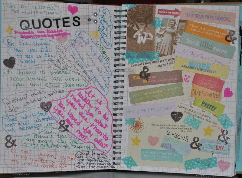 Quotes (Smash Book)
