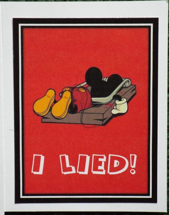 Mickey Card (inside)
