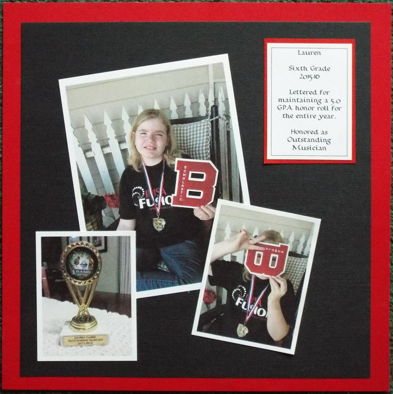 Fifth Grade Honors