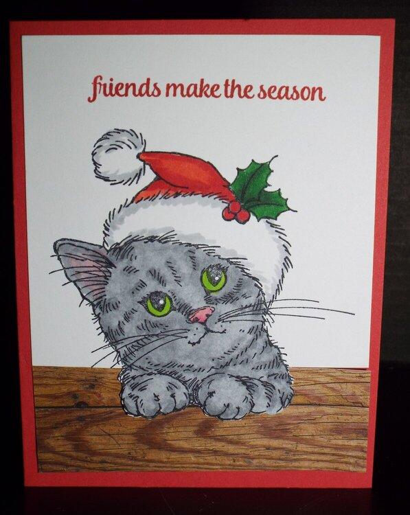 Christmas - Kitty 2017