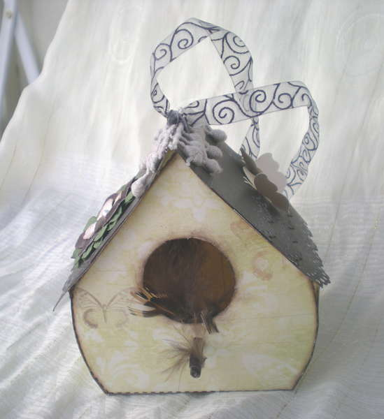 A little birdhouse