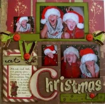Cora and Caid at Christmas page 2