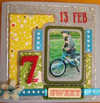 Birthday Card For A 7 Year Old Boy