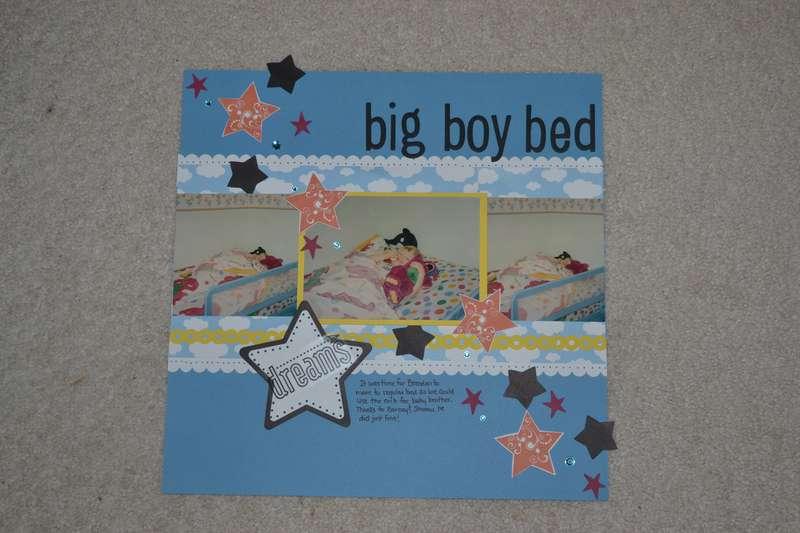 LN - big boy bed