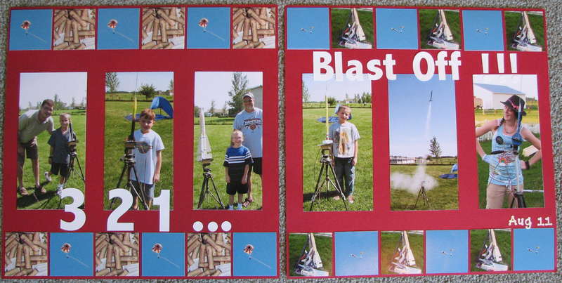 Model Rocket Launch (both pages)