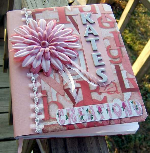 Altered Composition Book (close-up)
