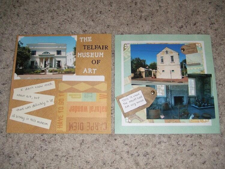 Trip to Savannah, Georgia, Page 21 & 22