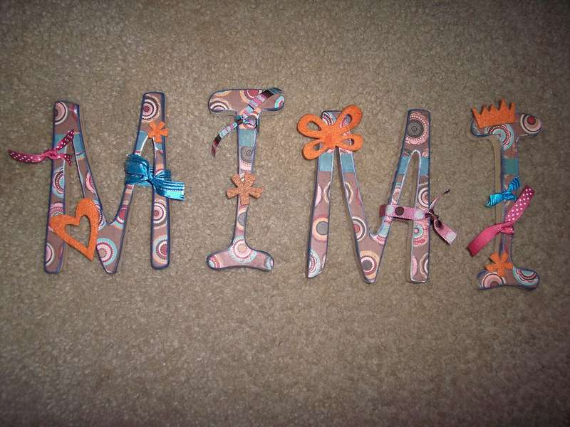 altered letters- mimi