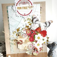 Run Free - Card *Webster's Pages*