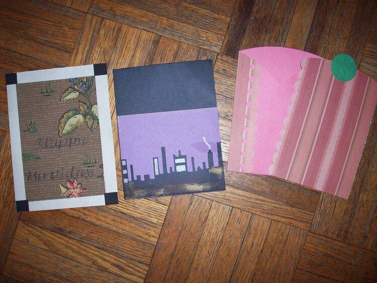 3 recent cards