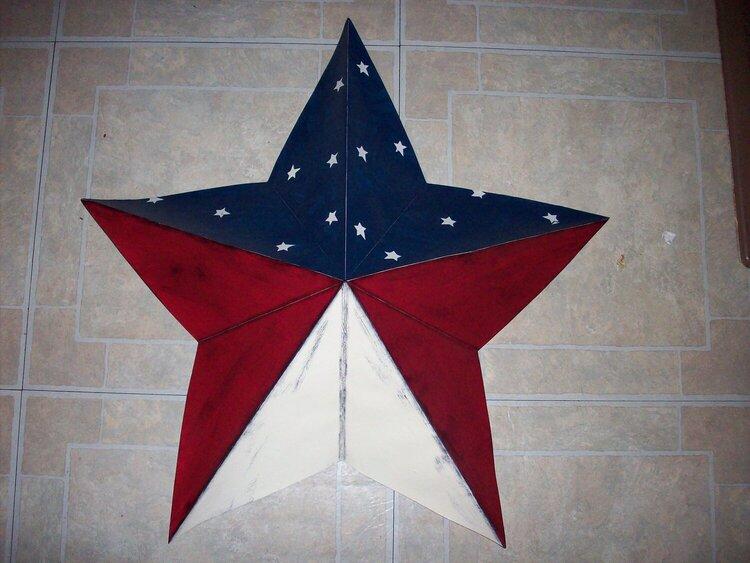 paper barn star
