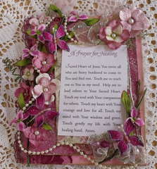 A Prayer for Healing Altered canvas