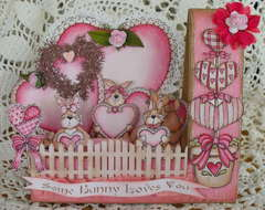 Combo get well valentine card,