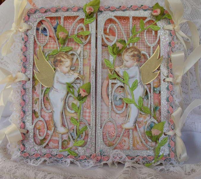 Little Darlings, 8x8 scroll, gatefold album