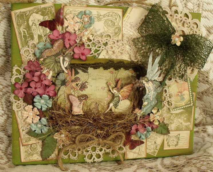 Altered Canvas Once Upon a Springtime
