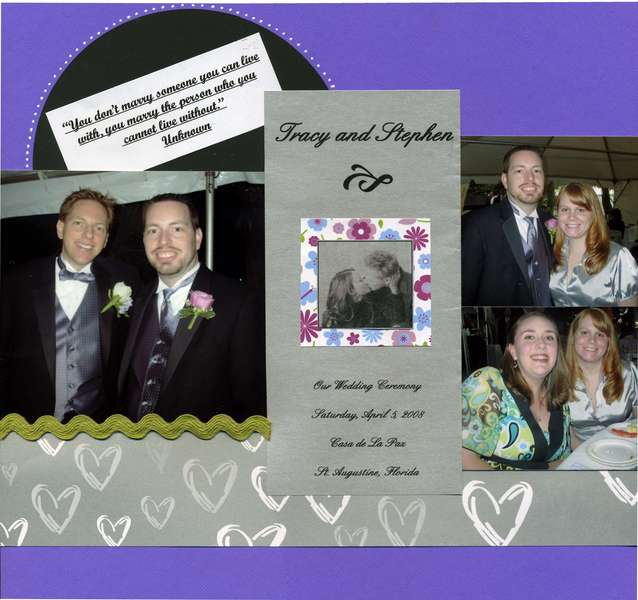 Ziemba's Wedding page 1