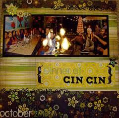 Dinner at CinCin