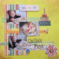 Callia's First