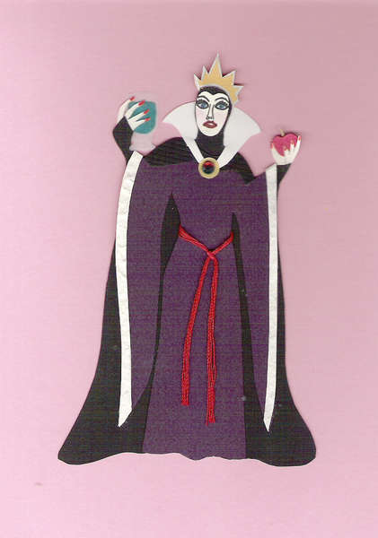Evil Queen Paper Piecing