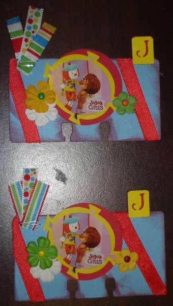 J is for Jojo ~ Disney Rolodex Swap