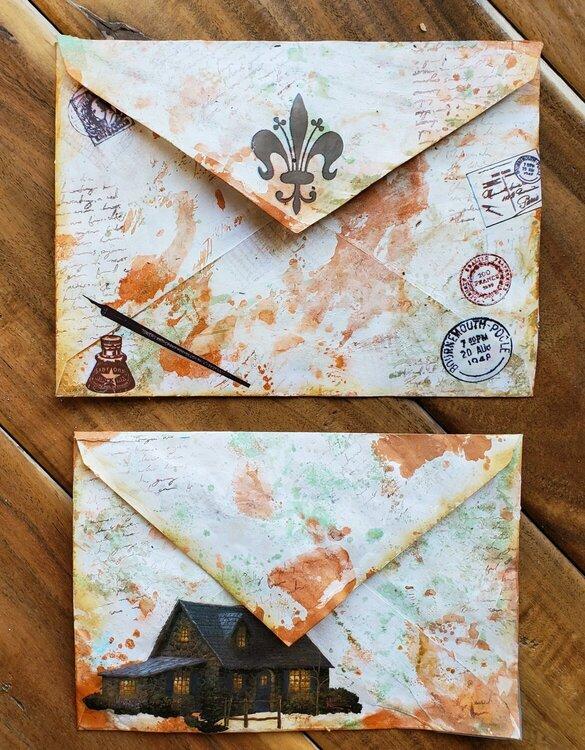 Altered Envelopes back side
