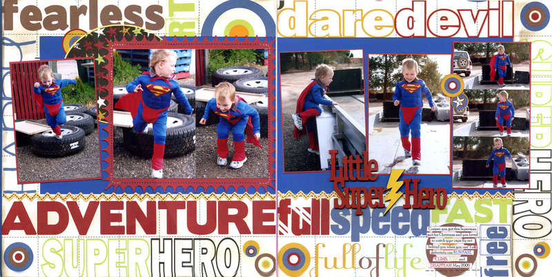 Little Super Hero