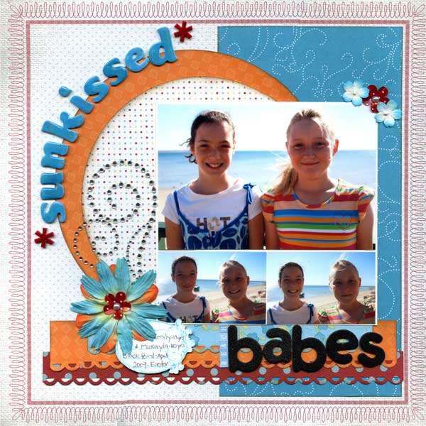 Sunkissed Beach Babes