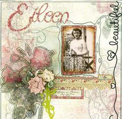 Eileen in France ~ 1954