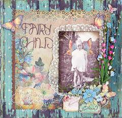 Fairy Child ~ 1935 Swirlydoos