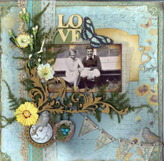 Love ~ 1928 *Scraps of Darkness* May Kit