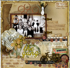 The Gang 1940 ~ Swirlydoos