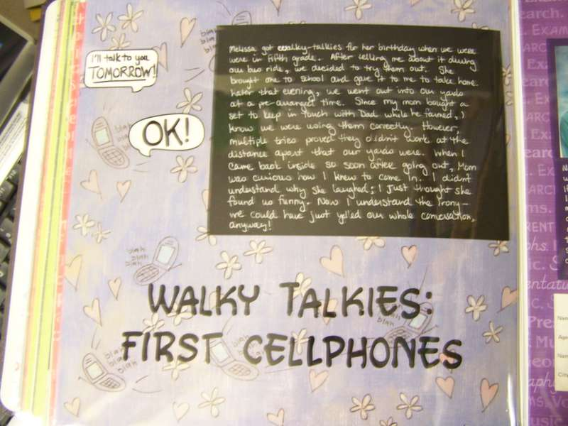 Walky Talkies: First Cellphones