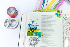 Lesson 5 - Tips and Creative Ideas for Using Washi in Your Bible